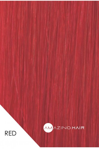Red Amazing Hair Swatch.